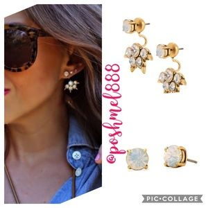 :: Stella Dot Eva Ear Jacket Earrings Stud